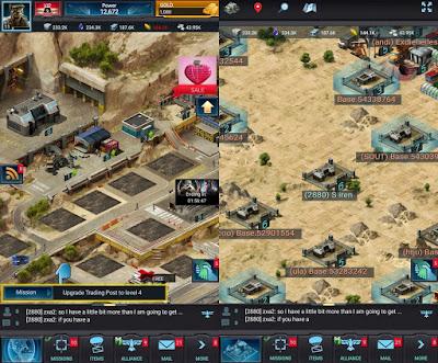 أحدث العاب حرب Mobile Strike