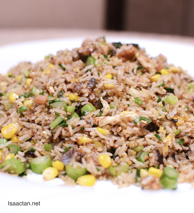 Fried Rice with Eel and Black Pepper