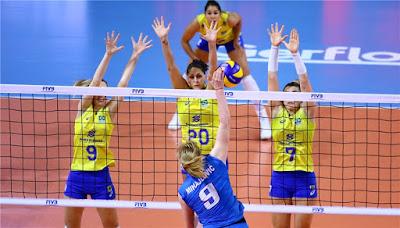 Brasil perde para Sérvia no Grand Prix seleção brasileira vôlei feminino Mihajlovic