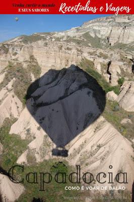 Passeio de balao na Capadocia