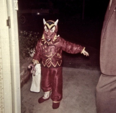 Halloween, little devil costume c.1960s. Faith Healing  Limitations of Skype? marchmatron.com