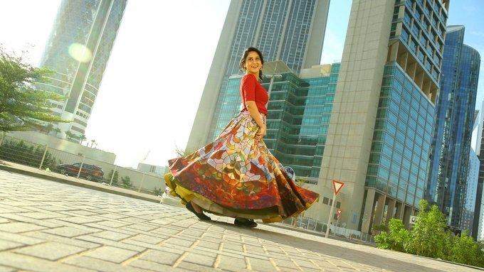 Actress Miya George in Ungarala Rambabu Movie Stills