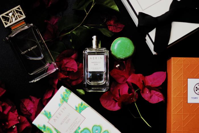 AERIN Lauder Waterlily Sun perfume blog review