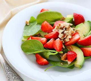 Strawberry Spinach Salad 1 recipe