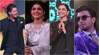 Shahrukh-Khan-Anushka-Sharma-Deepika-Padukone-and-Ranveer-Singh