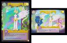 My Little Pony Princess Celestia, Solar Sister Celestial Solstice CCG Card