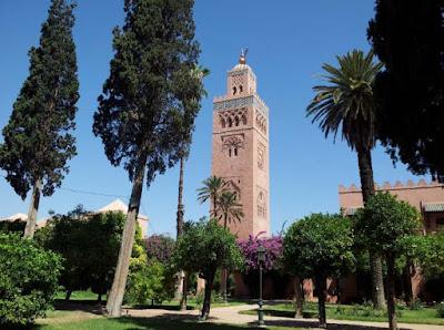 Mosque of Koutoubia-  جامع الكتبية