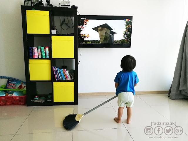Ajar Anak Buat Kerja Rumah