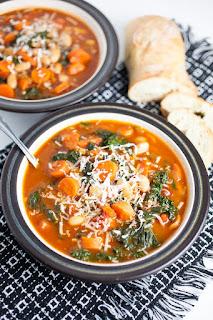 kale vegetarian soup