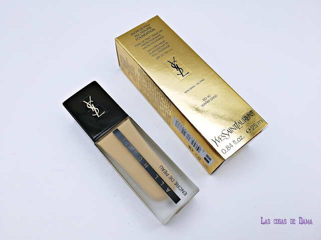 Encre de Peau All Hours Foundation YSL beauty makeup maquillaje 24h belleza Yves saint Laurent