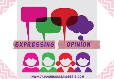Materi dan Soal Bahasa Inggris Expressing Opinion Kelas Materi dan Soal Bahasa Inggris Expressing Opinion Kelas 7 SMP