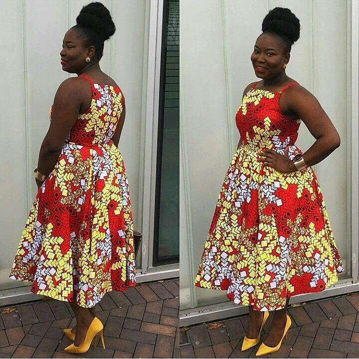 African ,Ankara ,print dresses, Fashion teens
