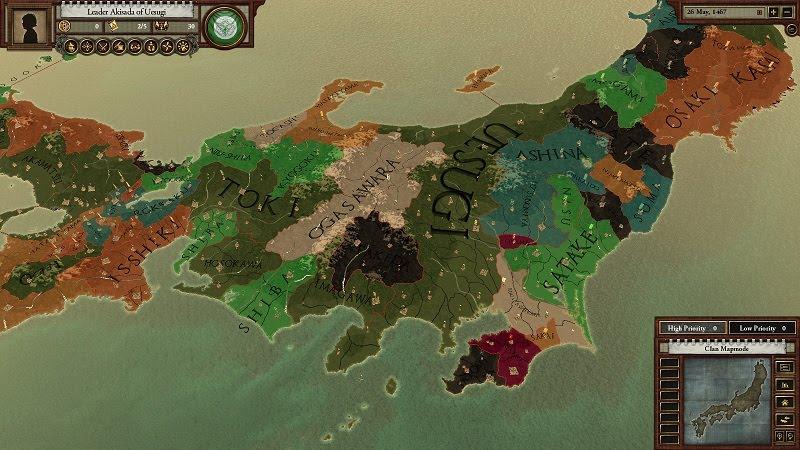 Shogunki The ParadoxSamurai Archives Sengoku Onin War