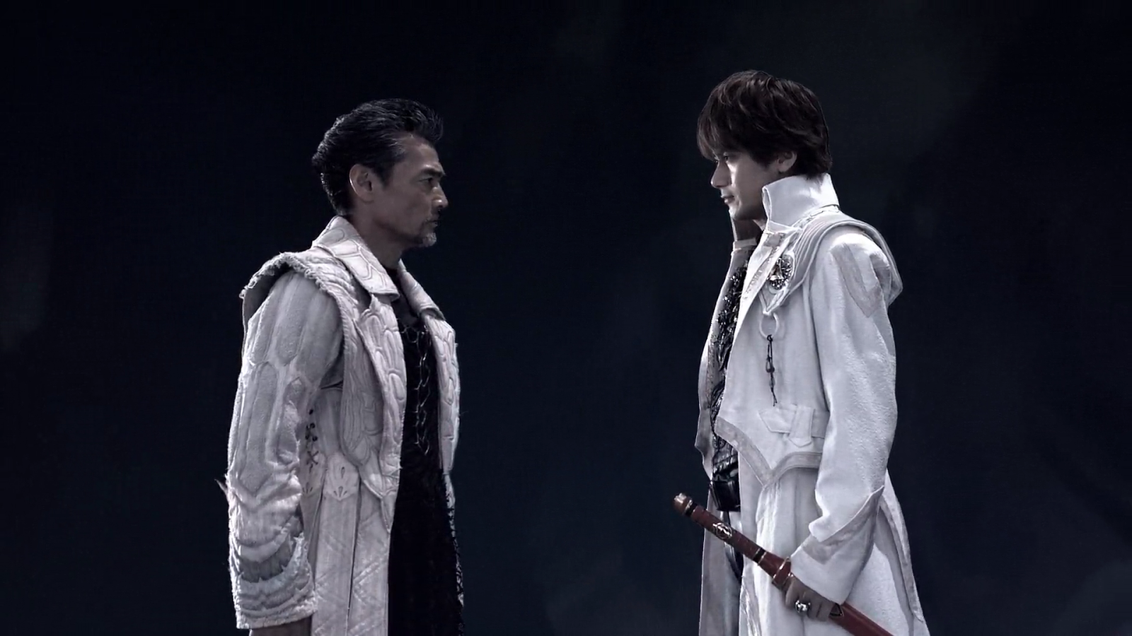 Kouga meets his deceased father once again
