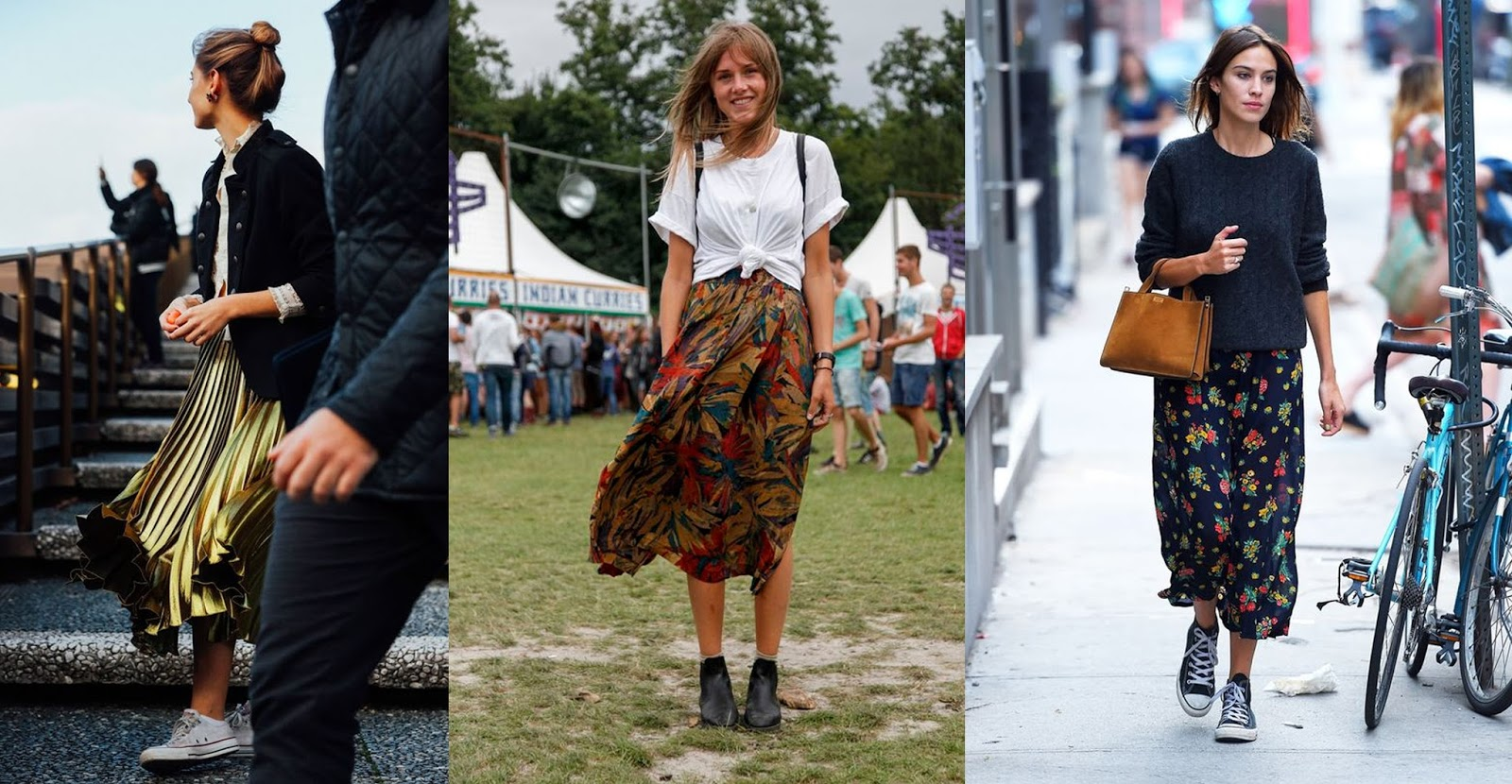 pleated skirt inspiration from pinterest