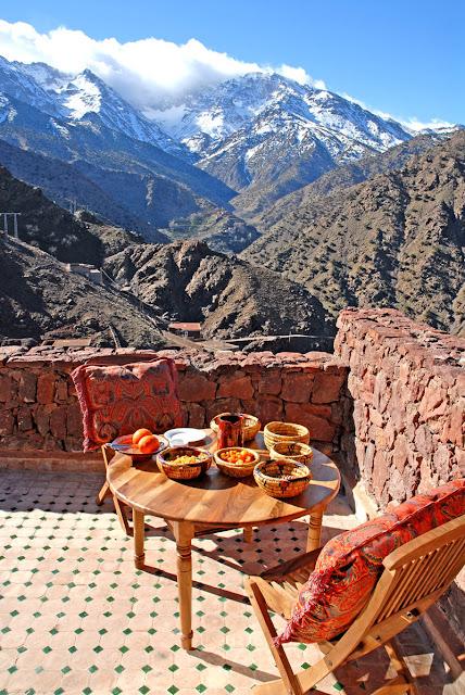 kasbah du toubkal montaña