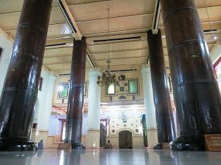 4 soko guru Masjid Agung Demak