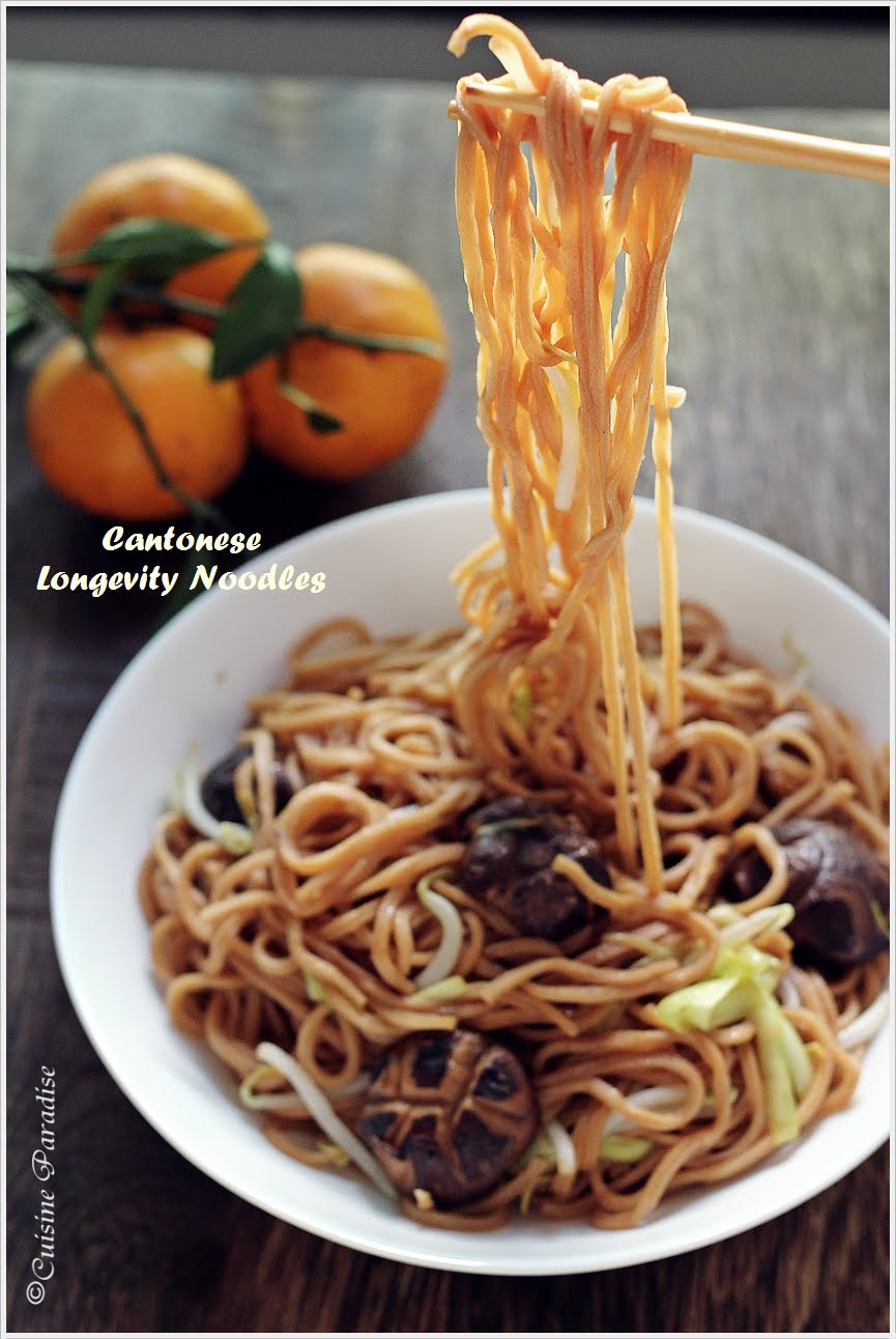 Cuisine Paradise Singapore Food Blog Recipes Reviews And Travel Sweet And Savoury Longevity Noodles 长寿面