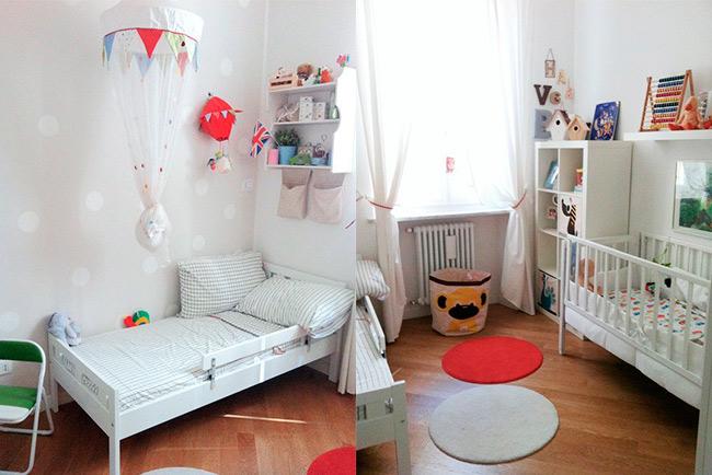 Mar vi blog idee per camerette condivise tra fratello e - Idee per camerette piccole ...