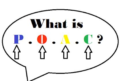 Pengertian P.O.A.C. dalam ilmu Manajemen - Lengkap