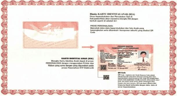 KTP Anak atau Kartu Indentitas Anak (KIA)