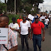 Protesters storm EFCC over Turnah's arrest