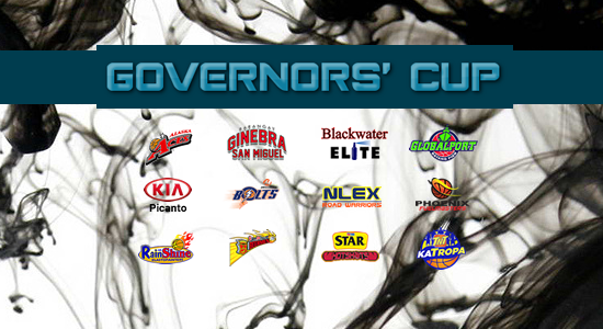 List 2017 PBA Governors' Cup Game Schedules/Team Standings/Scores