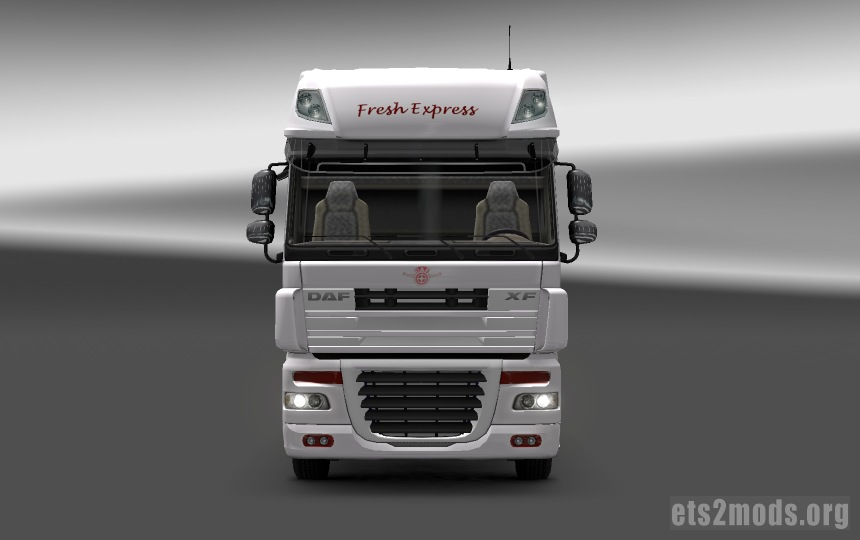 DAF Fresh Express Skin - front view
