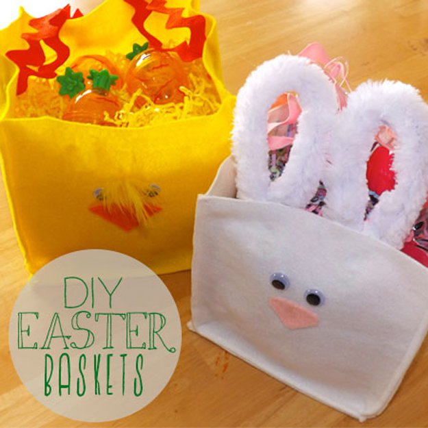 Vikalpah 15 diy easter baskets that arent baskets bunny basket diy from mer mag negle Image collections