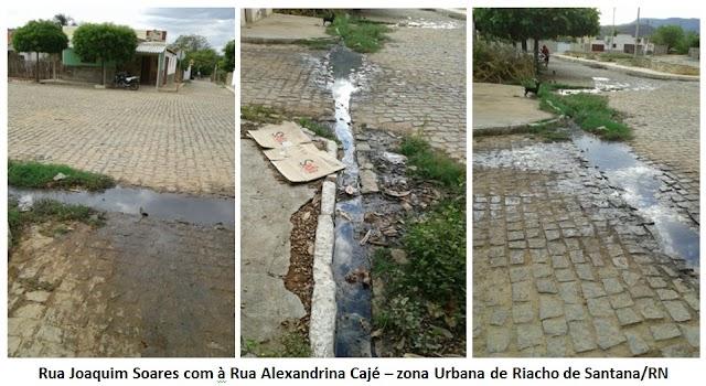 Riacho de Santana: moradores reclamam o descaso do poder público municipal