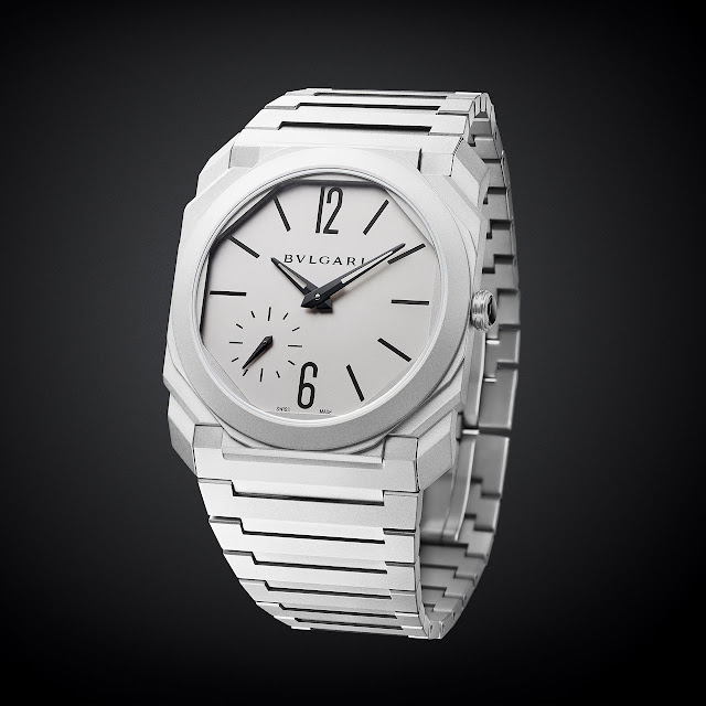 Bulgari Octo Finissimo Automatic Sandblasted World's Thinnest Automatic Watch