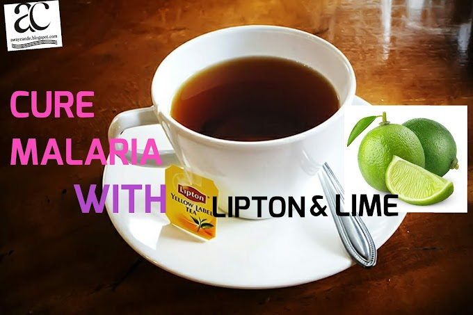 How To Cure Malaria With Lipton And Lime
