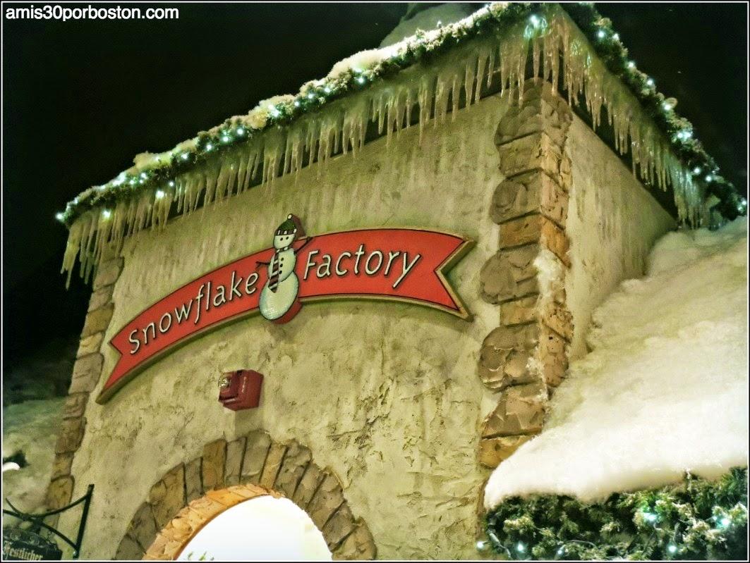 Yankee Candle Village: Snowflake Factory