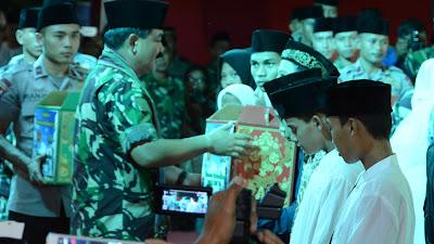 Panglima TNI :  TNI dan Polri Kekuatan Besar Menjaga Keutuhan NKRI
