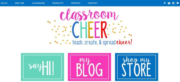 http://classroomcheer.blogspot.com/
