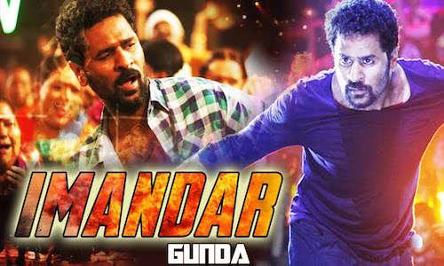 Poster Of Imaandar Gunda 2016 Hindi Dubbed 400MB HDRip 480p Free Download Watch Online Worldfree4u
