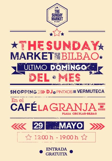 744 en THE SUNDAY MARKET - Café LA GRANJA-BILBAO