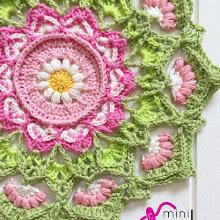 Rosa Mandala mini-CAL