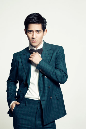 A More Business Look for Vic Zhou