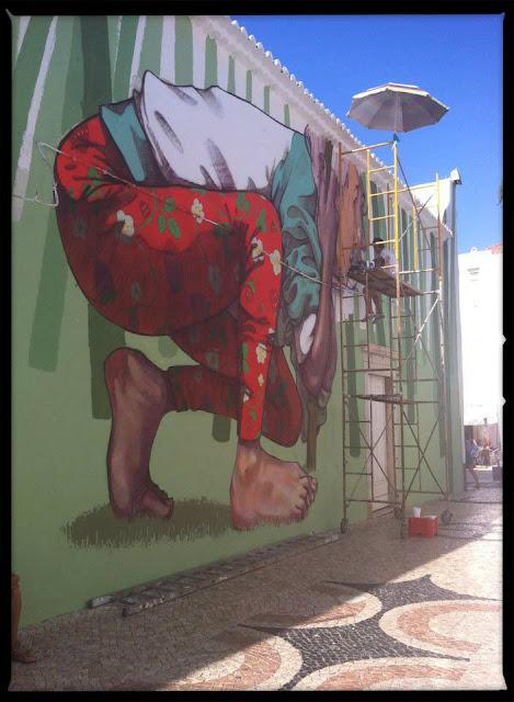 Street Art By Bezt From Etam Cru For Arturb Urban Art Festival In lagos, Portugal. 6