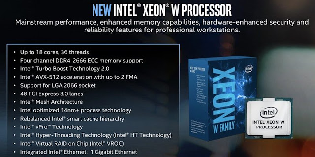 Intel's new Xeon W: built for 'mainstream workstations'