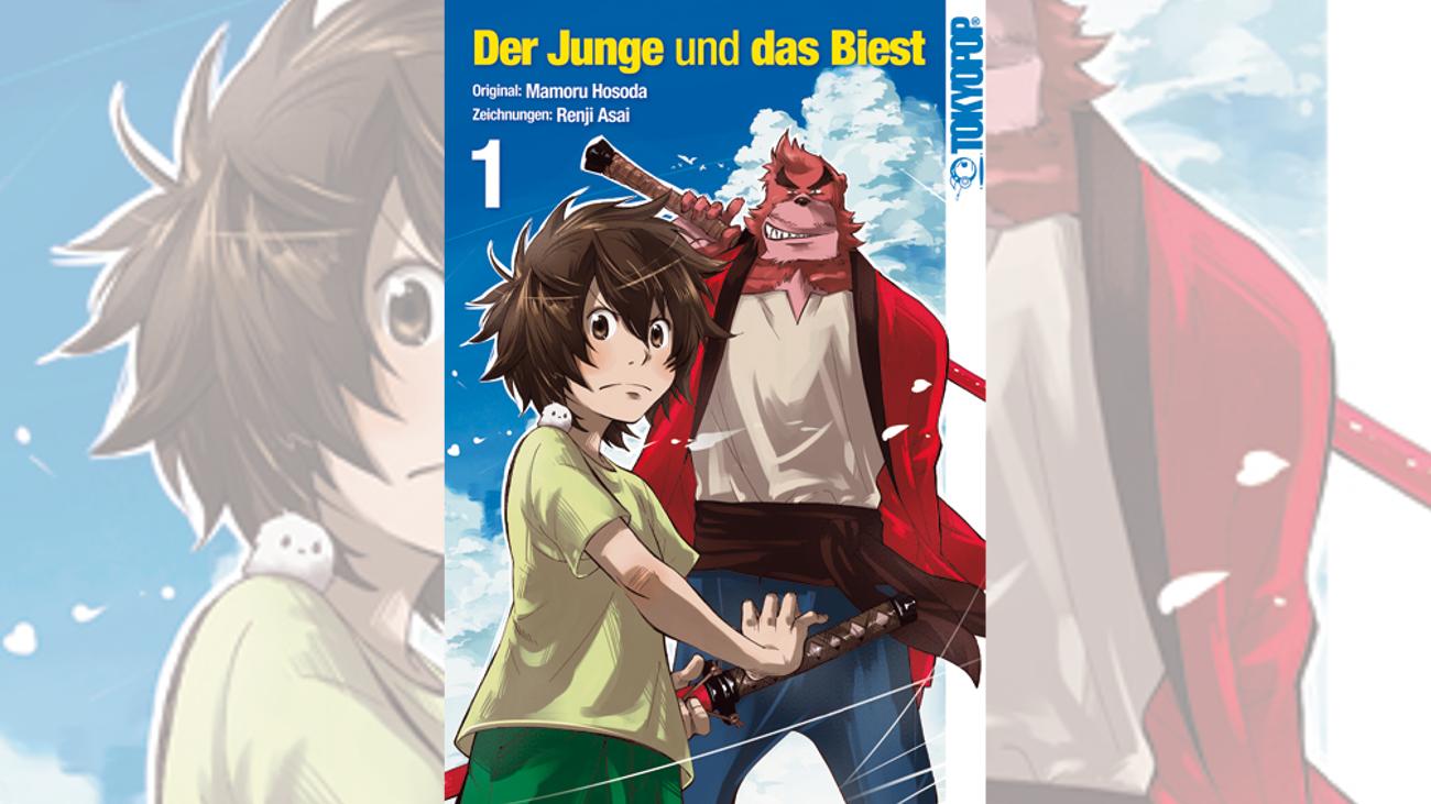 Manga Highlights 2016 Der Junge und das Biest