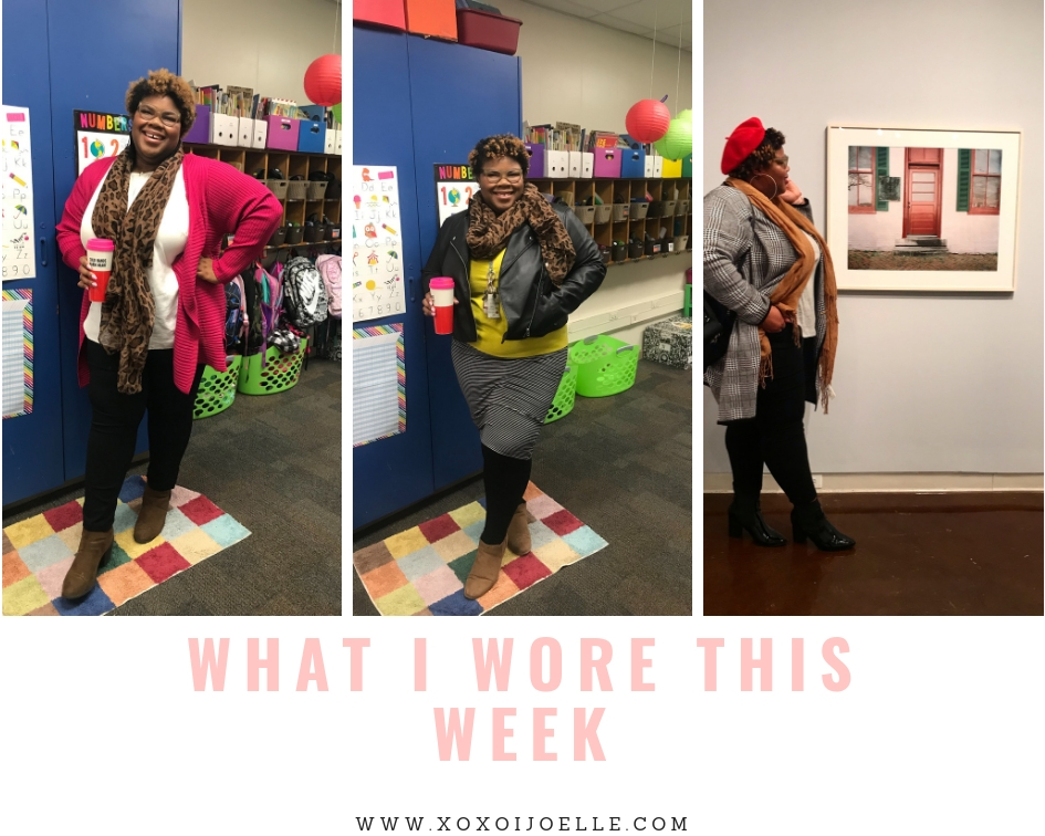 What I Wore This Week: 11/26- 12/6