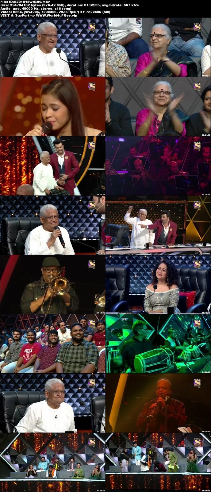 Indian Idol Season 10 20 October 2018 HDTV 480p 300Mb world4ufree.fun tv show Indian Idol Season 10 hindi tv show Indian Idol Season 10 Sony Set tv show compressed small size free download or watch online at world4ufree.fun