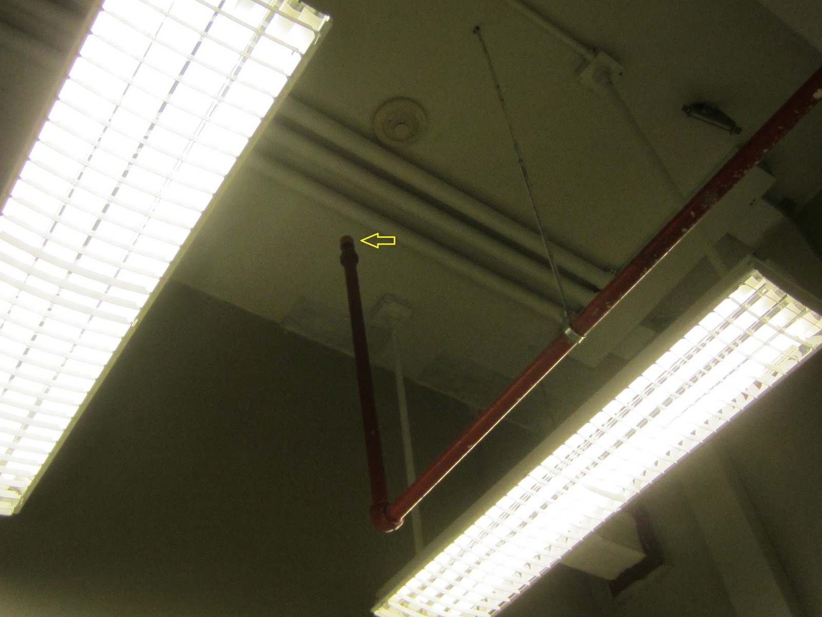 Fire Protection Deficiencies Fire Sprinkler Heads