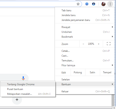 Melalui Kontrol Google Chrome