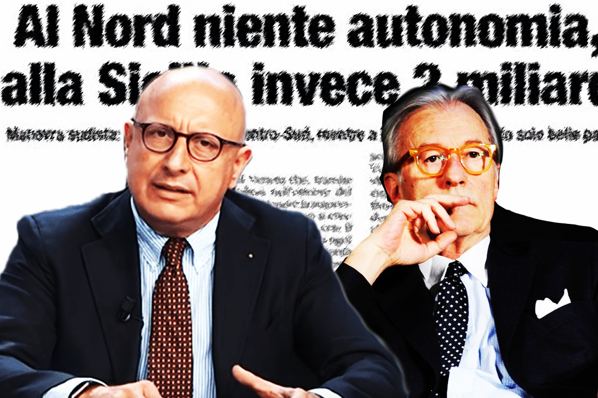 We're waiting for you on the island with open arms: Sicilian Government Vice President Armao replies to an article by journalist Vittorio Feltri