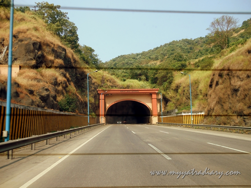 Bhatan Tunnel on the Mumbai - Pune Expressway
