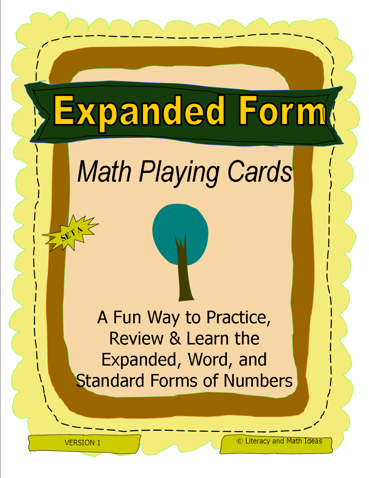 Literacy Amp Math Ideas Expanded Form