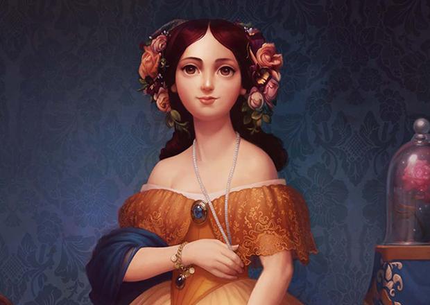 Princesas Disney em pinturas clássicas, Jessica Oyhenart, Disney, Ingres
